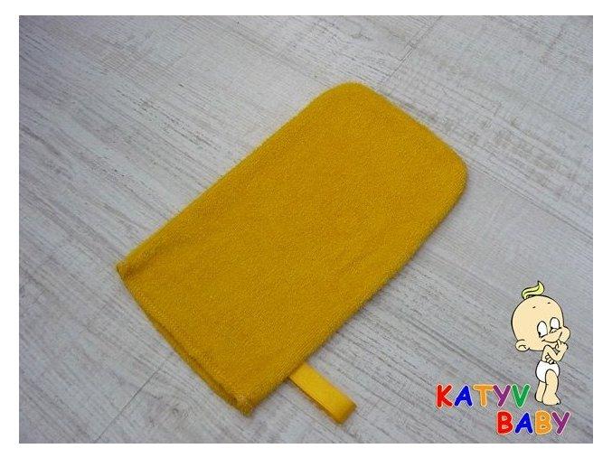 Katyv Baby - ŽÍNKA Z BAMBUSU - žlutá