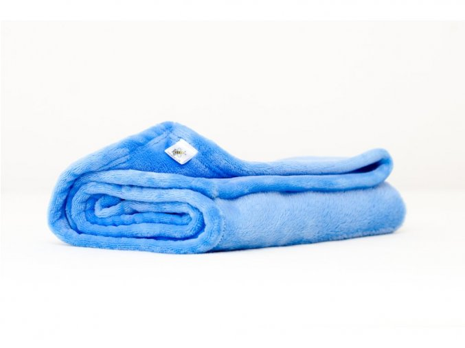MAJAB Dětská deka Modrá Rozměr: 100x70cm