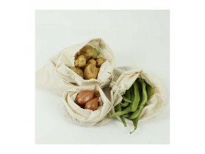 organic cotton produce bag variety pack set of 3