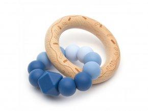 Mimijo Silikonové kousátko Nebo donut - silikonové kousátko