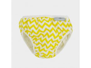 NEW swim diaper yellow zigzag grey WEB