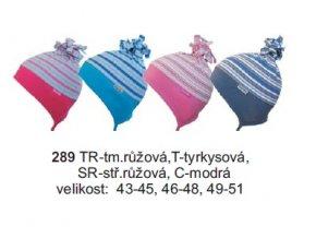 Sando 289 - Dětská bavlněná čepice 43-45