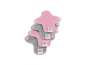 Ella´s House Moon pads mini stripes 4 ks