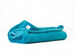 MAJAB Dětská deka Smaragdová Rozměr: 100x70cm