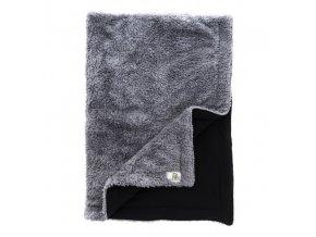 Bamboolik deka Muchlínek šedá + černá S