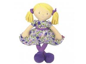 Latkova babika 40cm Peggy fialova