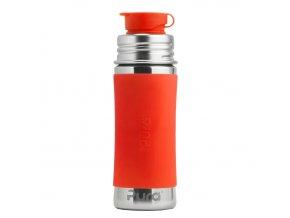 Pura®  nerezová  láhev  se  sportovním  uzávěrem  325 ml Oranžová
