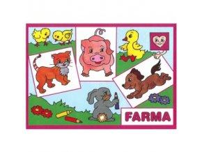 vymalovanky Farma A 300x300
