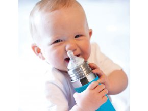 Pura nerezova dojcenska flasa 325ml II
