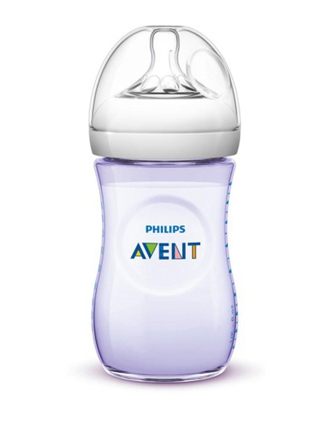 Philips Avent láhev Natural PP fialová 260ml
