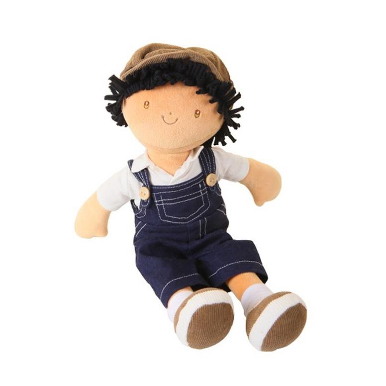 Bonikka látková panenka - chlapec 38 cm
