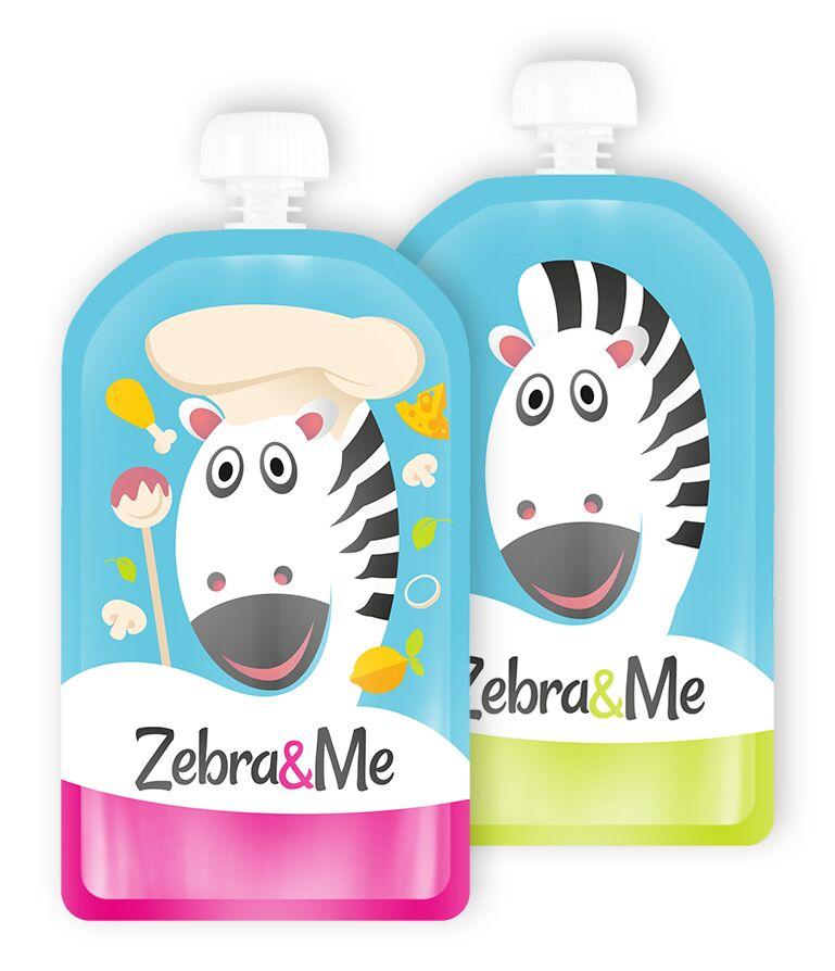 Zebra&Me kapsička na dětskou stravu cheff