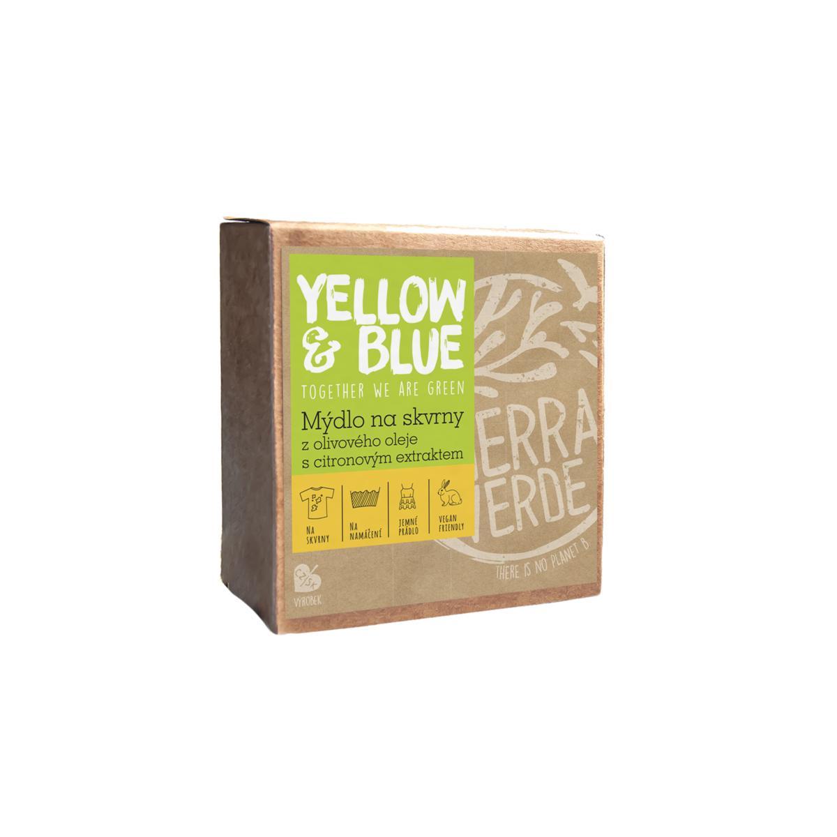 Olivové mýdlo s citronovým extraktem na skvrny 200 g