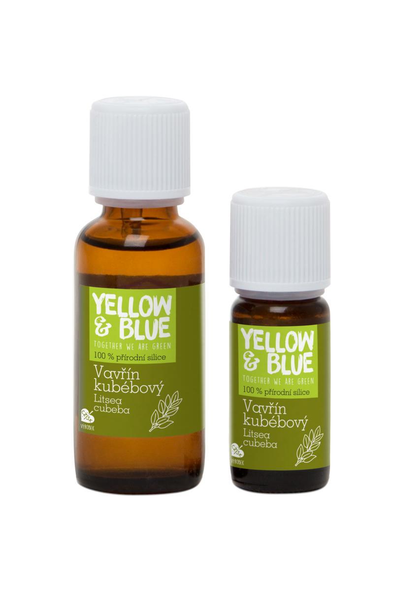 Yellow&Blue Silice Vavřín Kubébový 10 ml