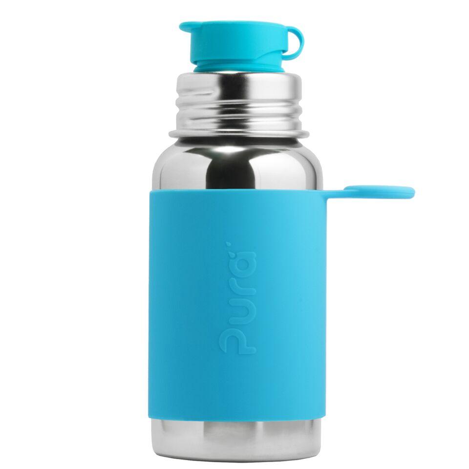 Pura® nerezová láhev se sportovním uzávěrem 550 ml Aqua
