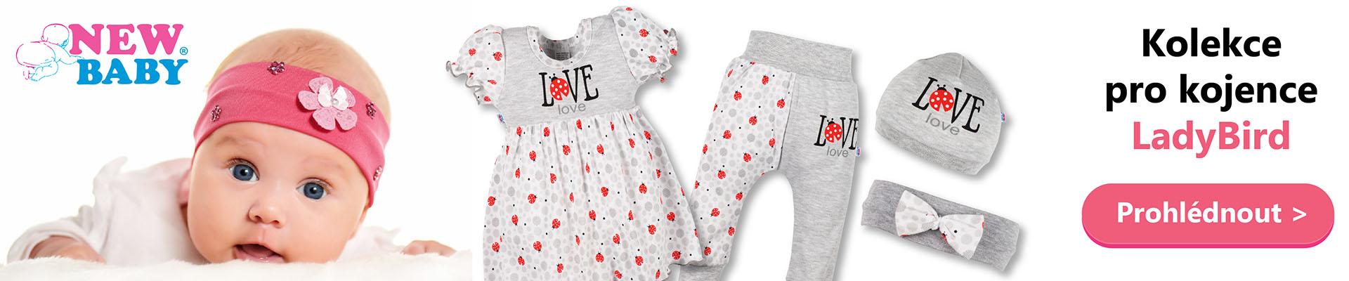 Kolekce pro kojence ladybird