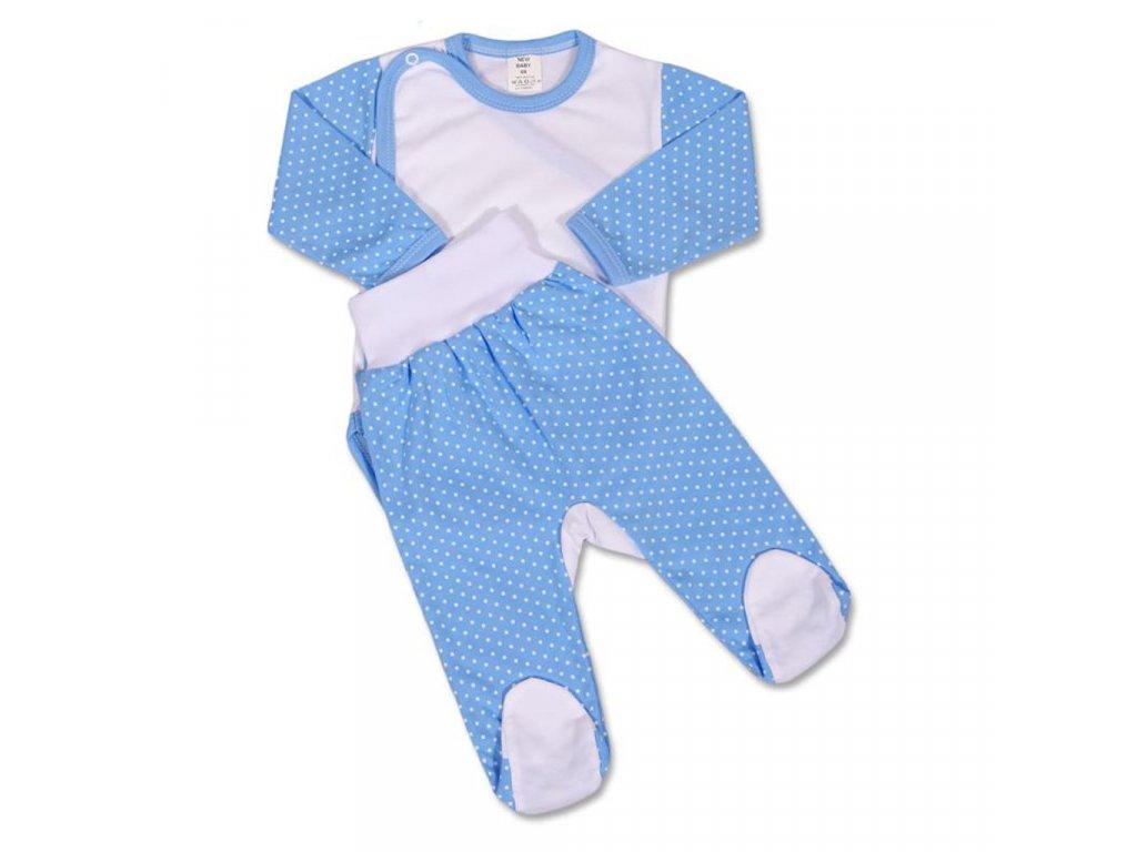 2-dílná souprava New Baby Puntík modrá