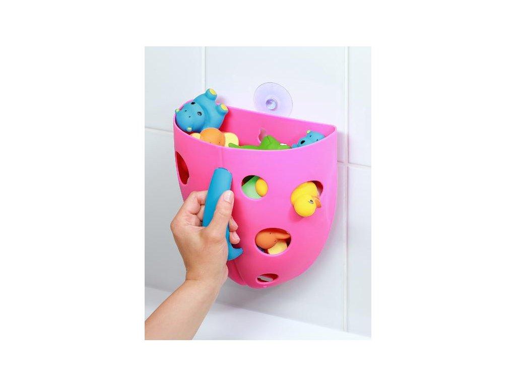 Plastový box na hračky do vany Baby Ono modrý
