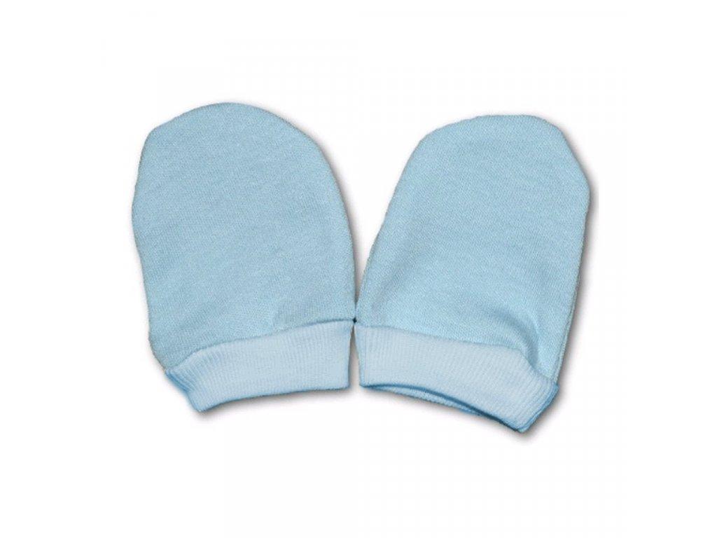 Rukavičky pro novorozence modré