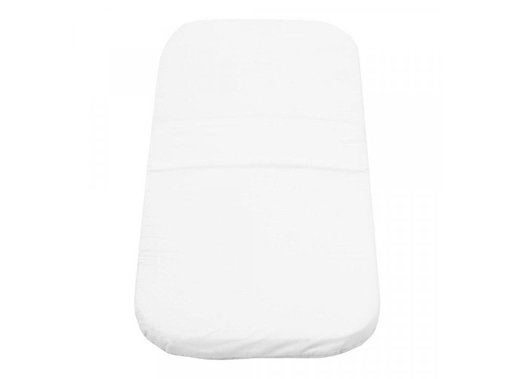 Dětská pěnová matrace do kočárku New Baby 75x35 bílá