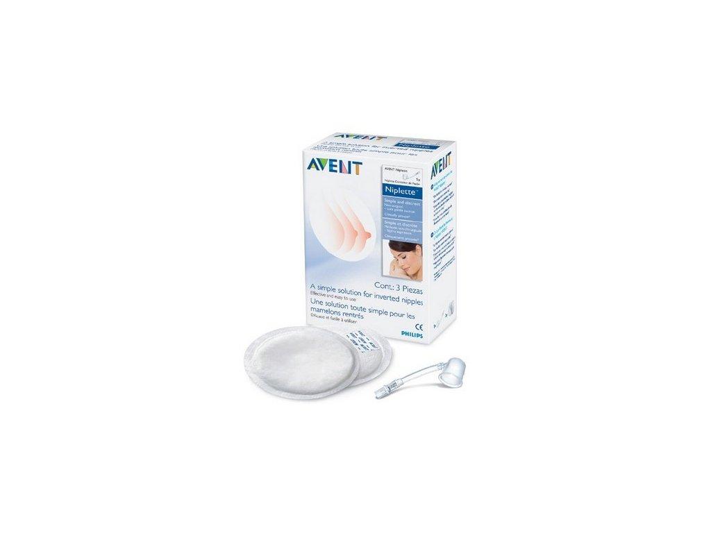 Niplette systém Avent na vpáčené bradavky