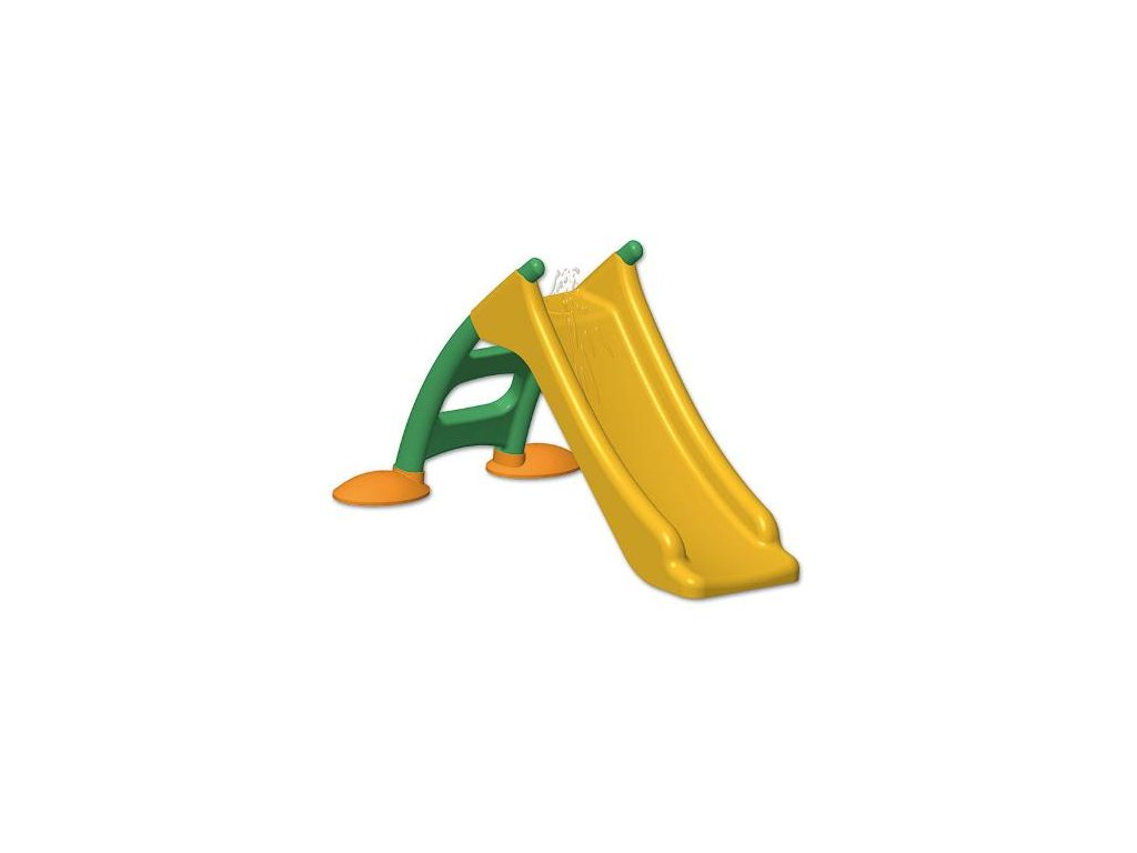 Dětská skluzavka - žlutá