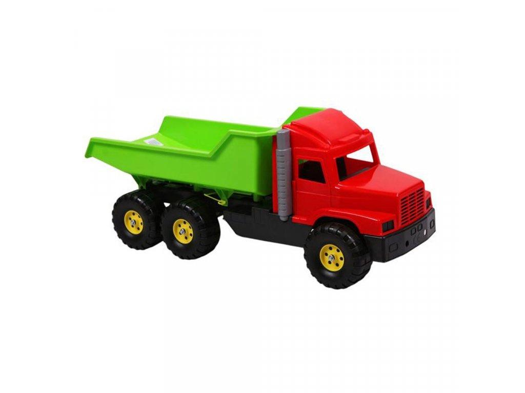 Hračka do písku - Náklaďák zeleno-červený