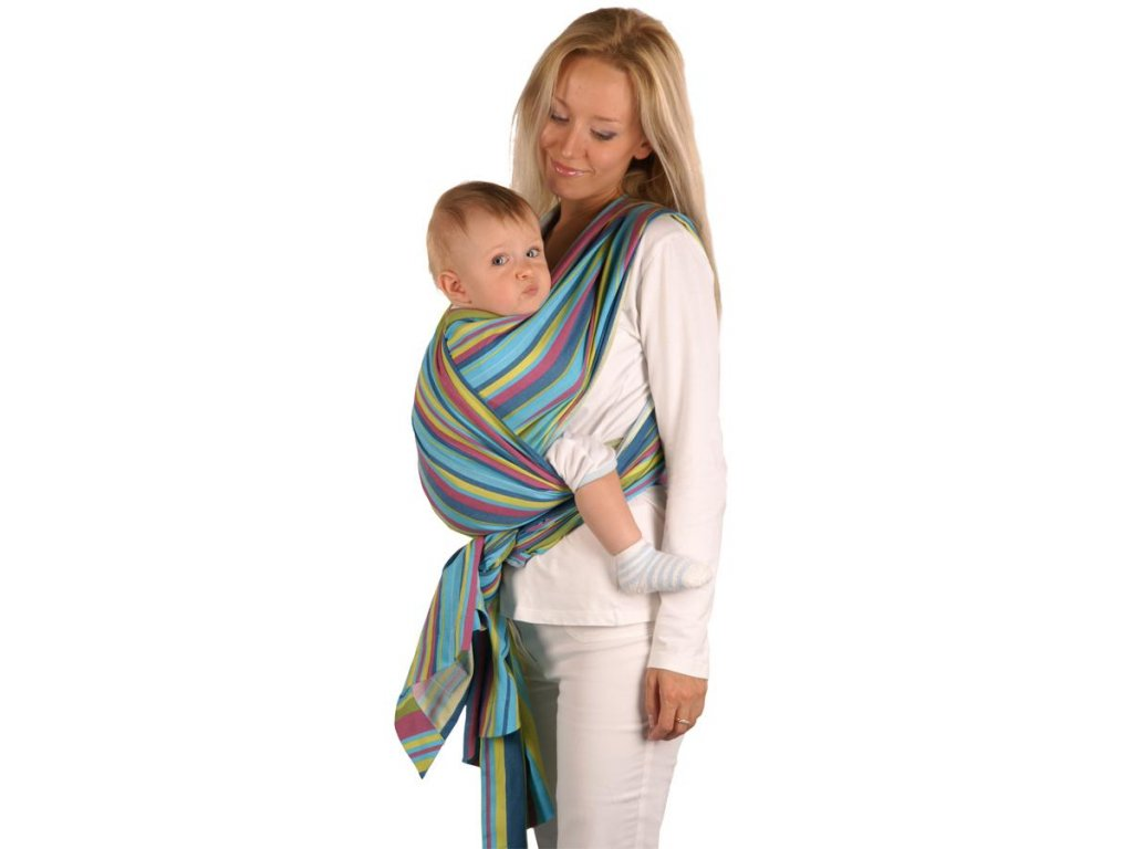 Šátek Womar na nošení dětí