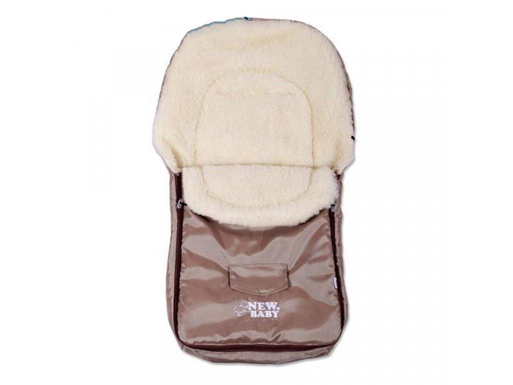 Zimní fusák New Baby Classic Wool brown