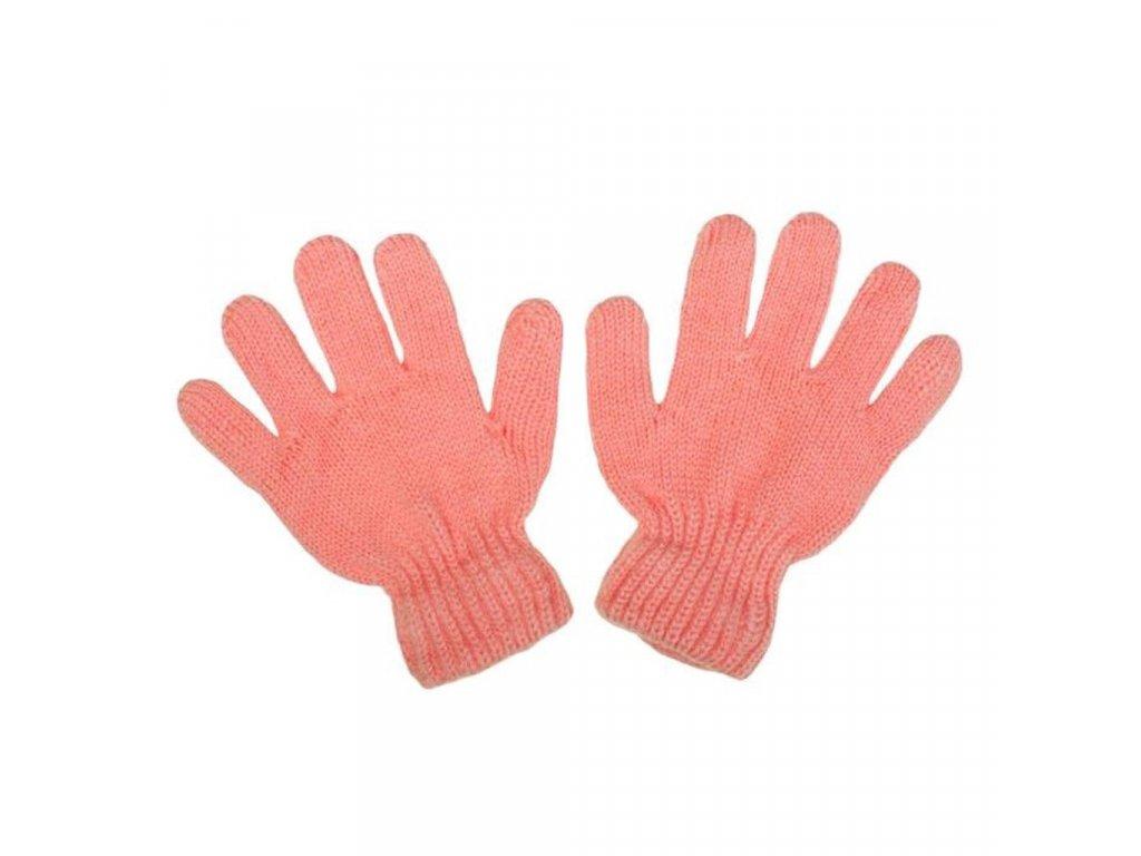 Dětské zimní rukavičky New Baby světle růžové