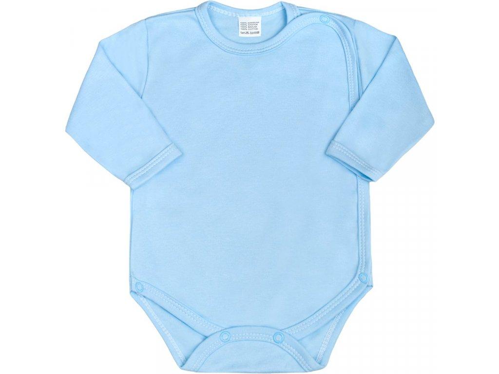 Kojenecké body celorozepínací New Baby Classic modré