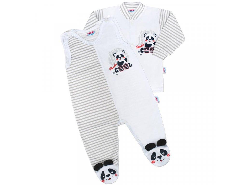 Kojenecká souprava New Baby Panda