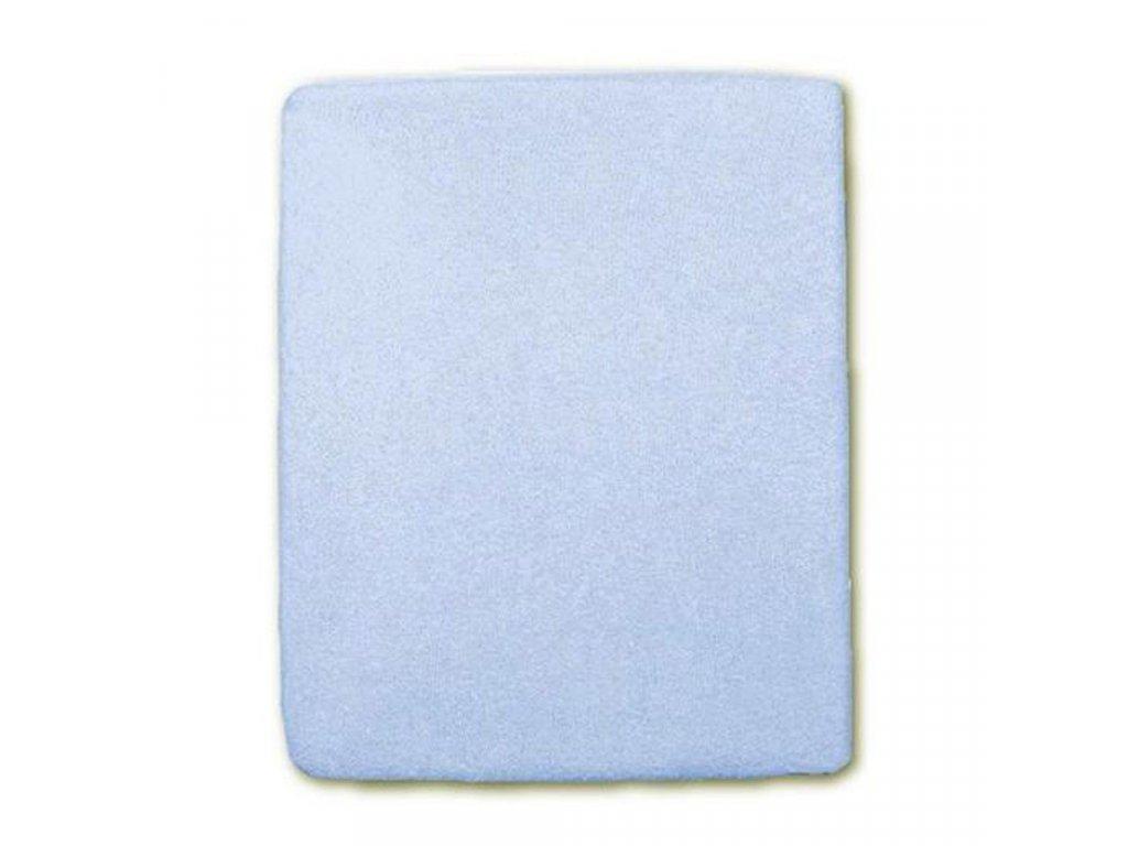 Nepromokavé prostěradlo New Baby 120x60 modré