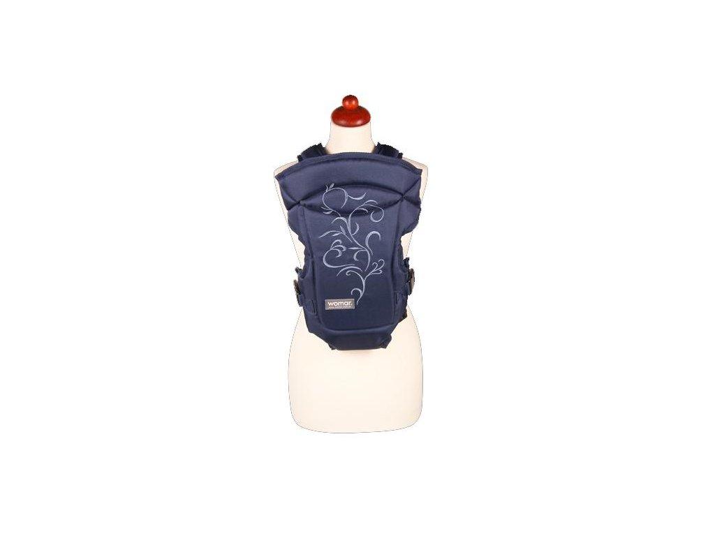 Nosítko Womar Zaffiro Butterfly tmavě modré