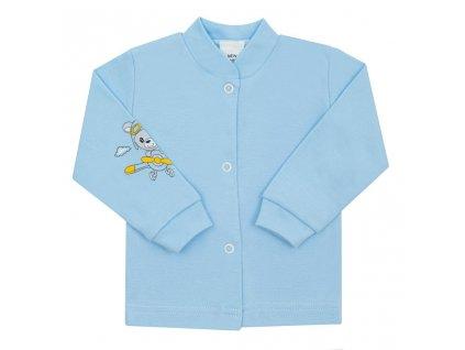 Kojenecký kabátek New Baby Teddy pilot modrý