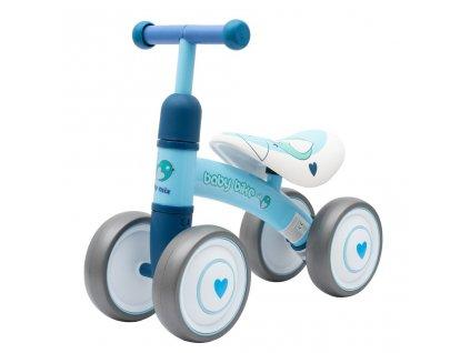 Dětské odrážedlo Baby Mix Baby Bike modré