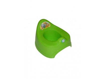 Hrající dětský nočník safari zelený