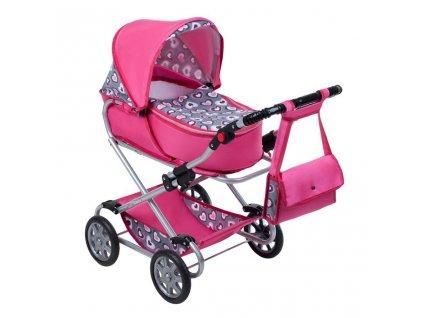 Dětský kočárek pro panenky 2v1 New Baby Růženka