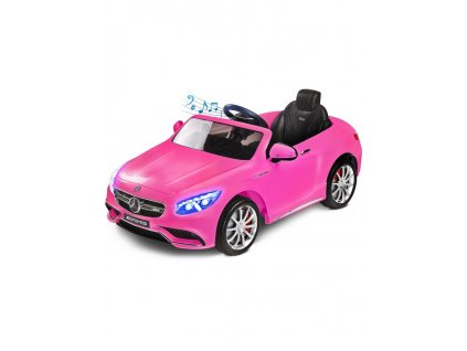 Elektrické autíčko Toyz Mercedes-Benz S63 AMG-2 motory pink