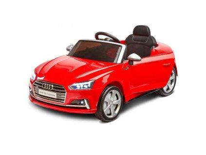 Elektrické autíčko Toyz AUDI S5 - 2 motory red