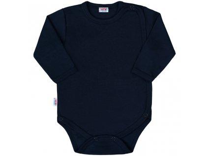 Kojenecké celorozepínací body New Baby Classic II tmavě modré