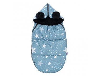 Luxusní fusák New Baby Hvězdičky