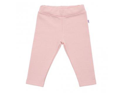 Kojenecké bavlněné legíny New Baby Leggings světle růžové