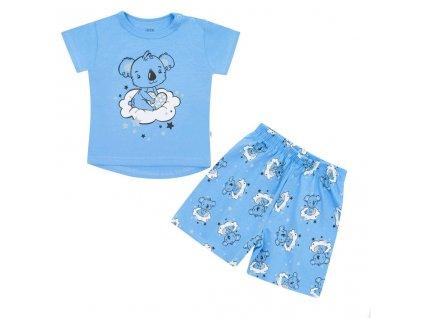 Dětské letní pyžamko New Baby Dream modré