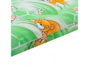 Dětská matrace New Baby 120x60 molitan-kokos zelená obrázky