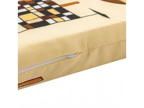 Dětská pěnová matrace žlutá - různé obrázky