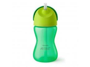 Kouzelný hrneček s ohebným brčkem Avent 300 ml zelený