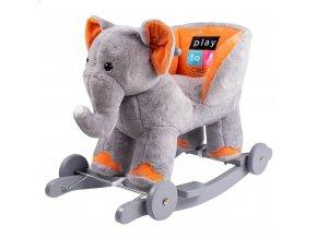 Houpací hračka s kolečky PlayTo sloník