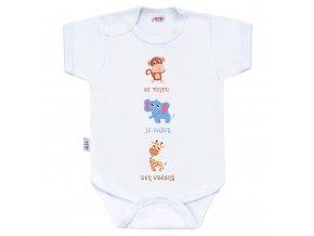 Body s potiskem New Baby ...Krásný Den