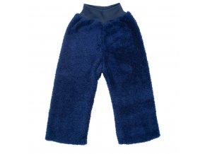 Zimní dětské tepláčky New Baby Penguin tmavě modré